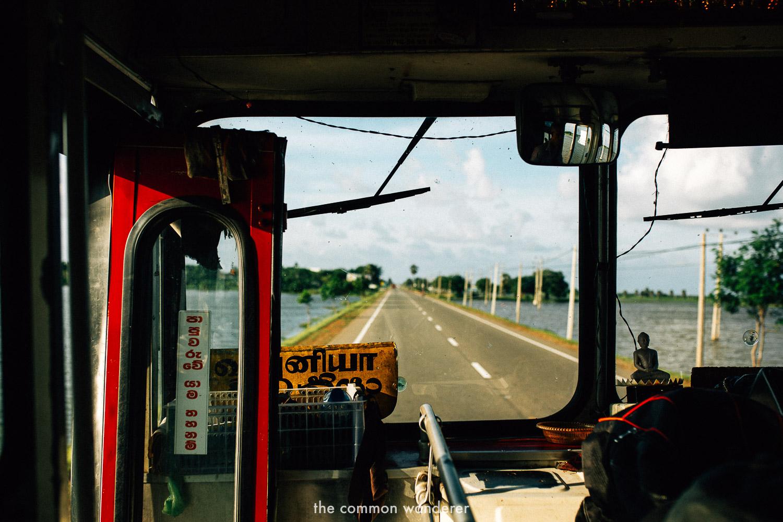 Bus rides in sri lanka are wild - sri lanka travel tips