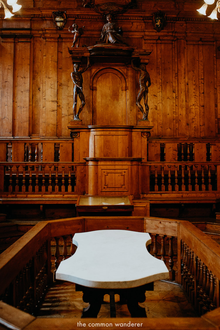 Best things to do in Bologna | Anatomical Theatre of the Archiginnasio