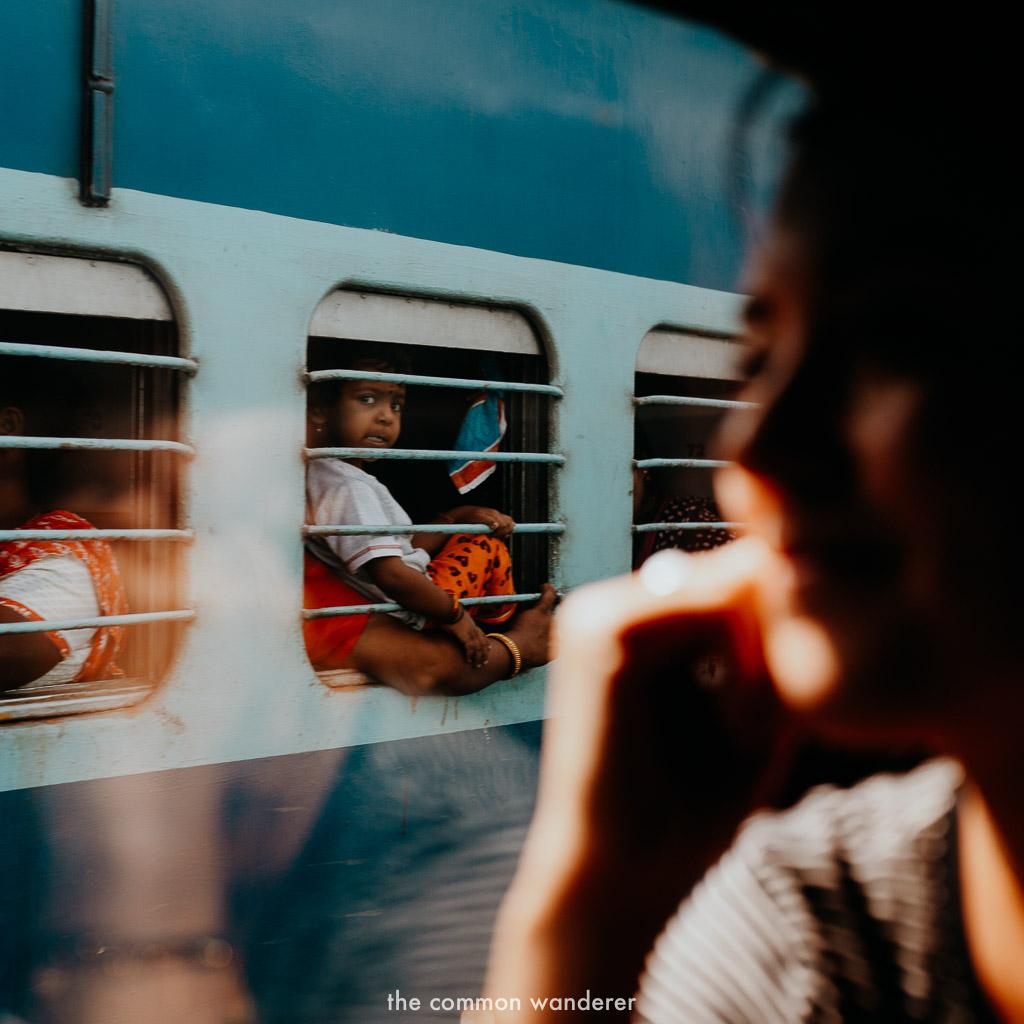 train travel through india