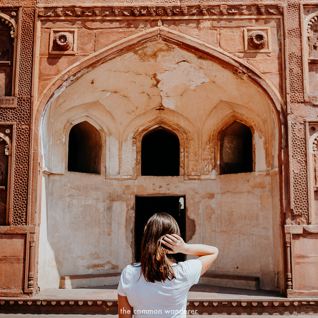 Agra Fort is a must see on any three week india itinerary