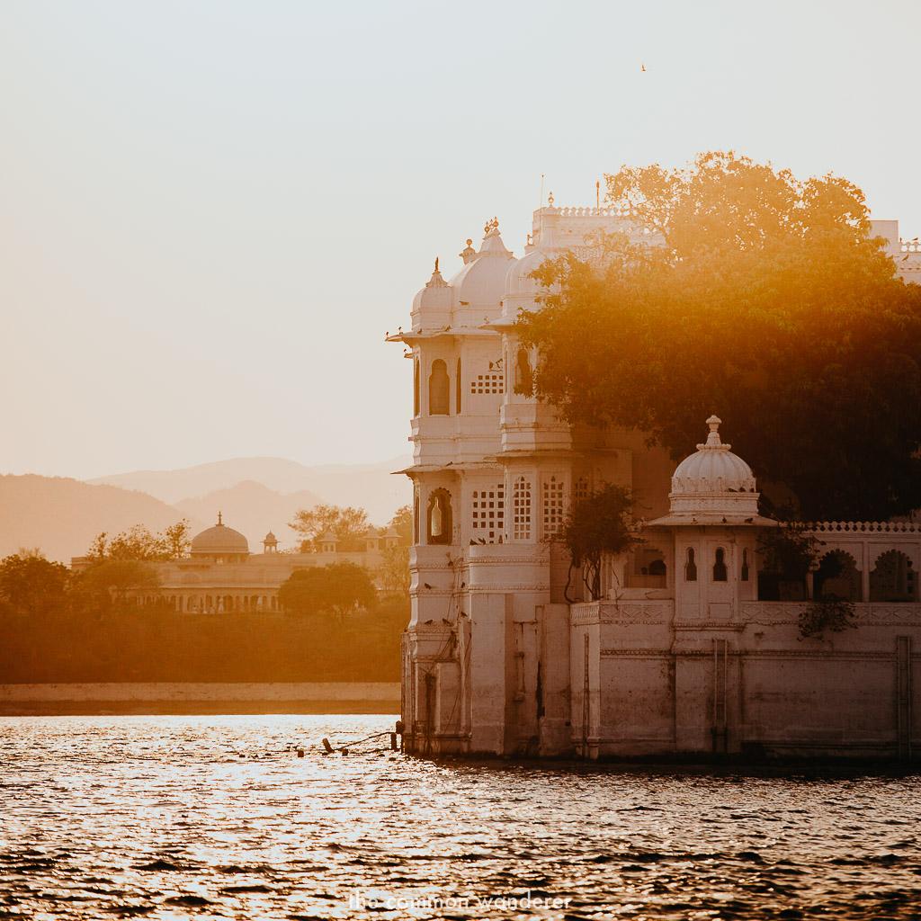 Sunset over Lake Pichola, Udaipur