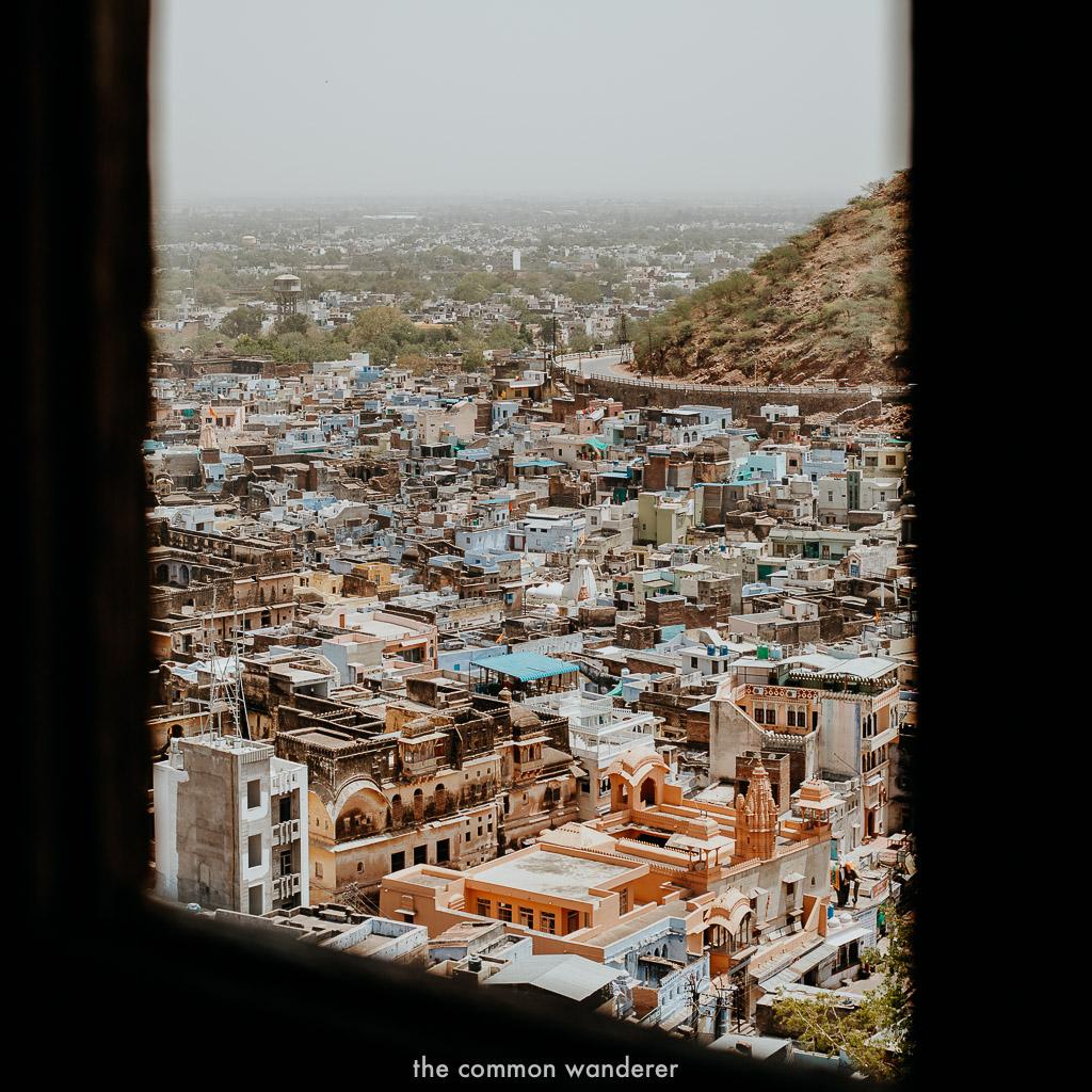 Views from Garh fort, Bundi
