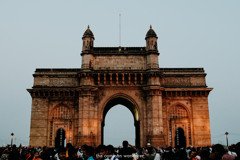 Sunrise at the Gateway to India, Mumbai