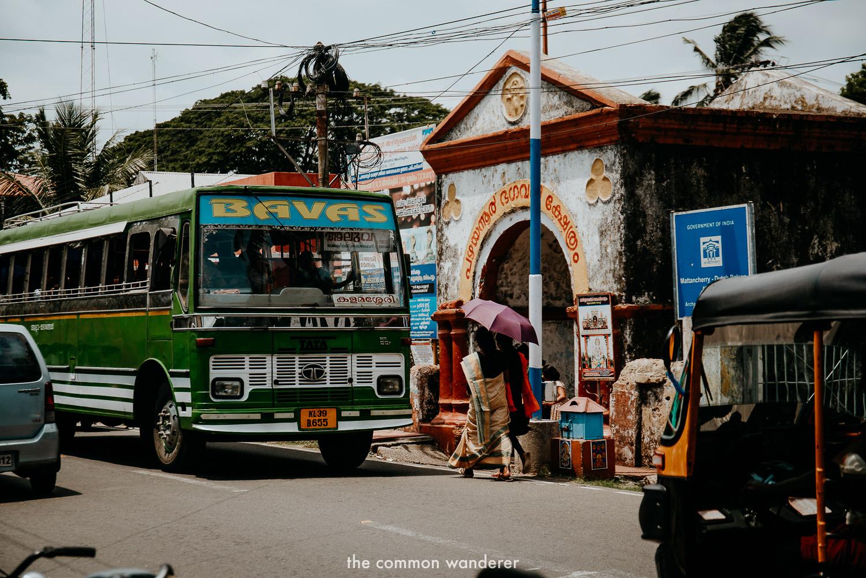 A colourful bus in Kochi, Kerala
