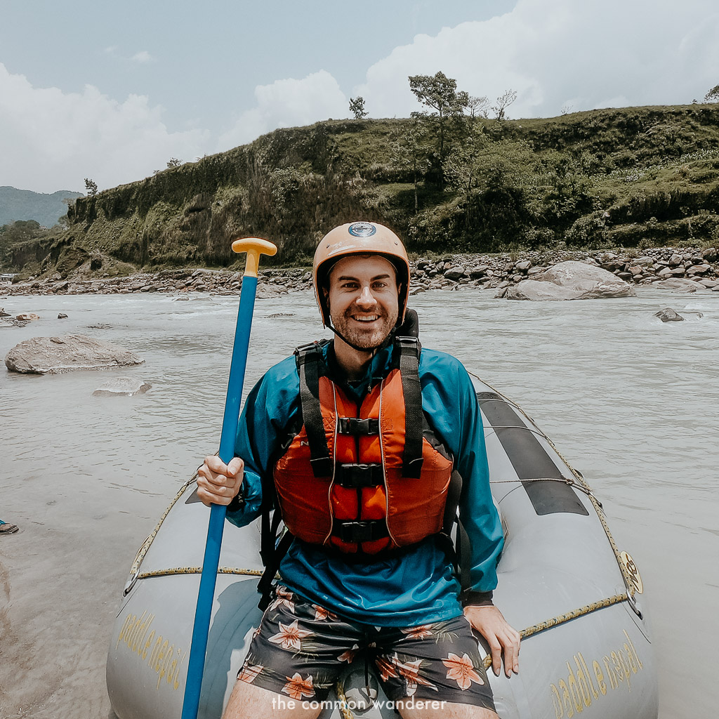 White water rafting along the Seti River, Nepal - best things to do in Pokhara