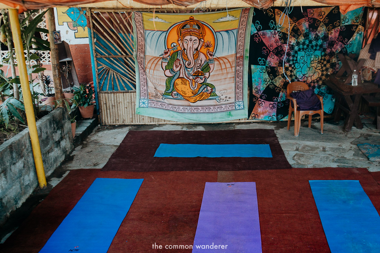 The Lotus Corner yoga studio, Pokhara