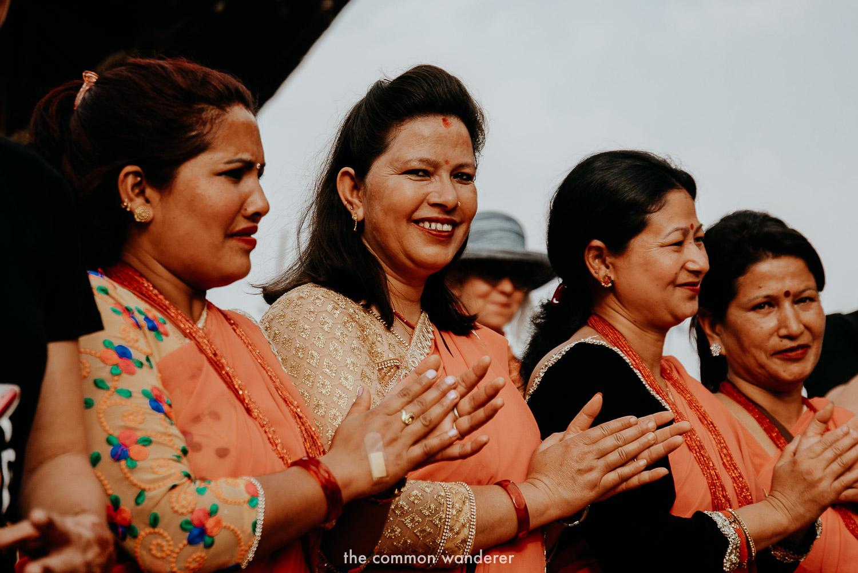 The ladies of Panauti Community Homestay program in Panauti, Nepal
