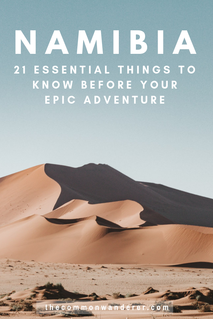 21 essential things to know before you visit Namibia | The Common
