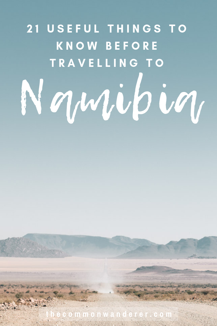So you can have the best possible trip to Namibia, here are our top 21 Namibia travel tips to know before visiting this remarkably beautiful country | Things to know before visiting Namibia | Namibia travel tips | Namibia guide | Swakopmund | Sossusvlei | Windhoek | Etosha | Spitzkoppe | Fish River Canyon | African roadtrip | Travel Tips | Namibia travel guide | Africa travel tips | #Namibia #Africa #Namibiatravel