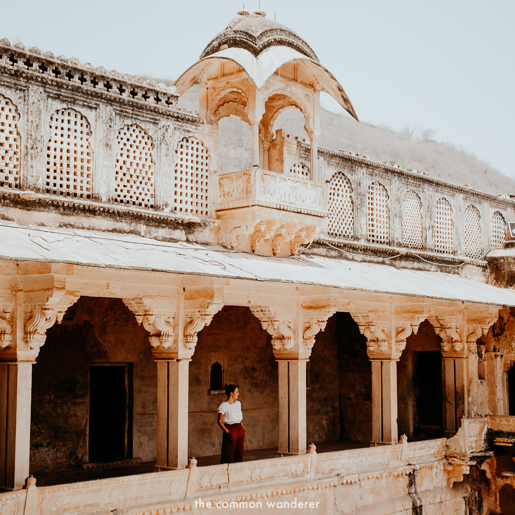 Overlooking the hall of public audience at Garh fort, Bundi
