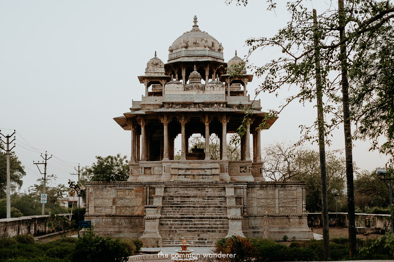 One of the best things to see in Bundi, the 84-pillared cenotaph