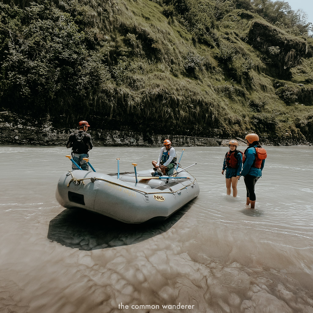 What to do in Nepal White water rafting