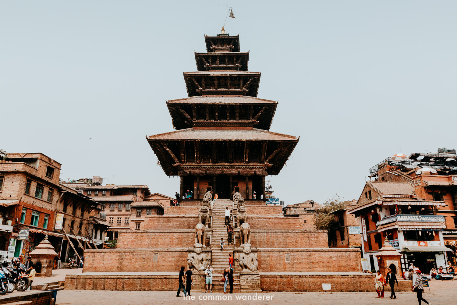 Nyatapola temple in Bhaktapur Durbar Square, Nepal things to do