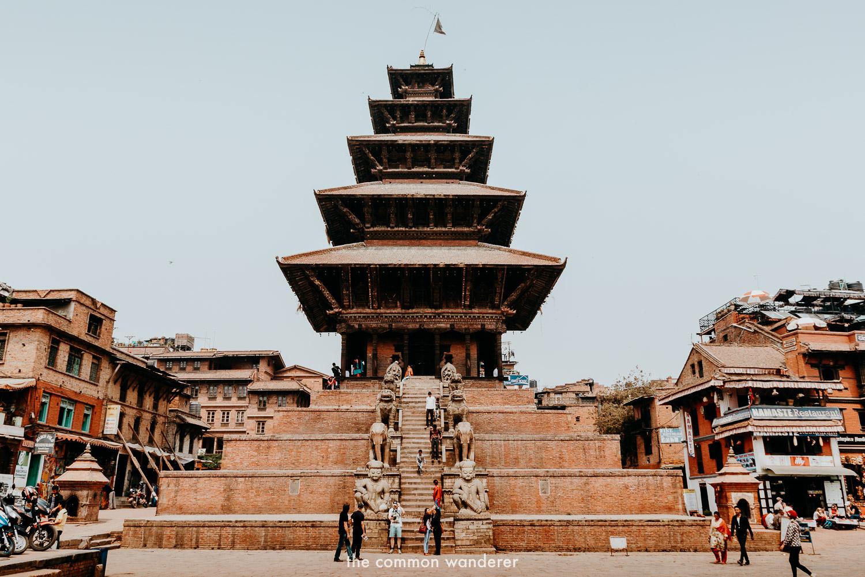 Nyatapola temple in Bhaktapur Durbar Square, Nepal things to do