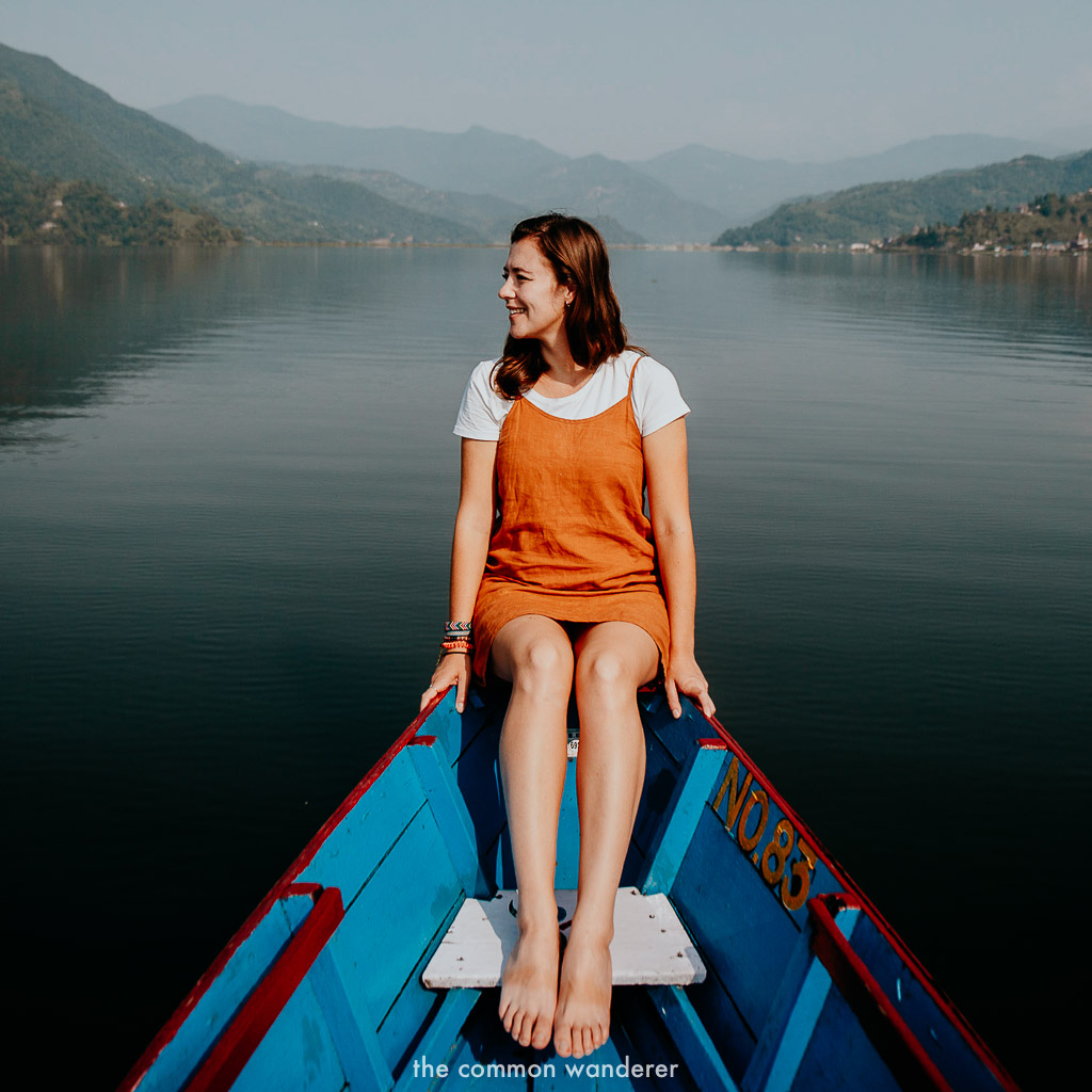 Cruising Phewa lake is one of the best things to do in Nepal