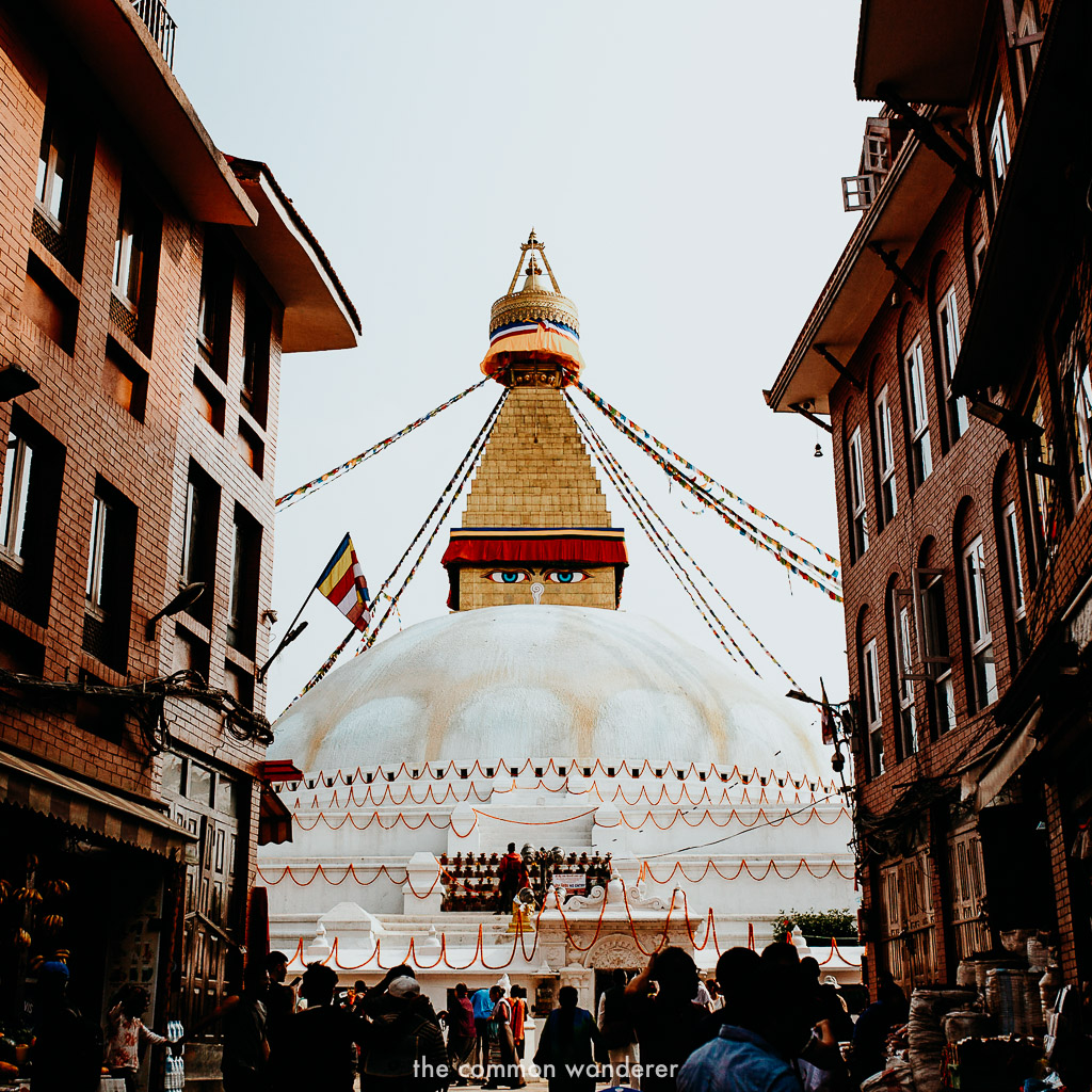 Boudhanath Stupa is one of the top things to do in Kathmandu