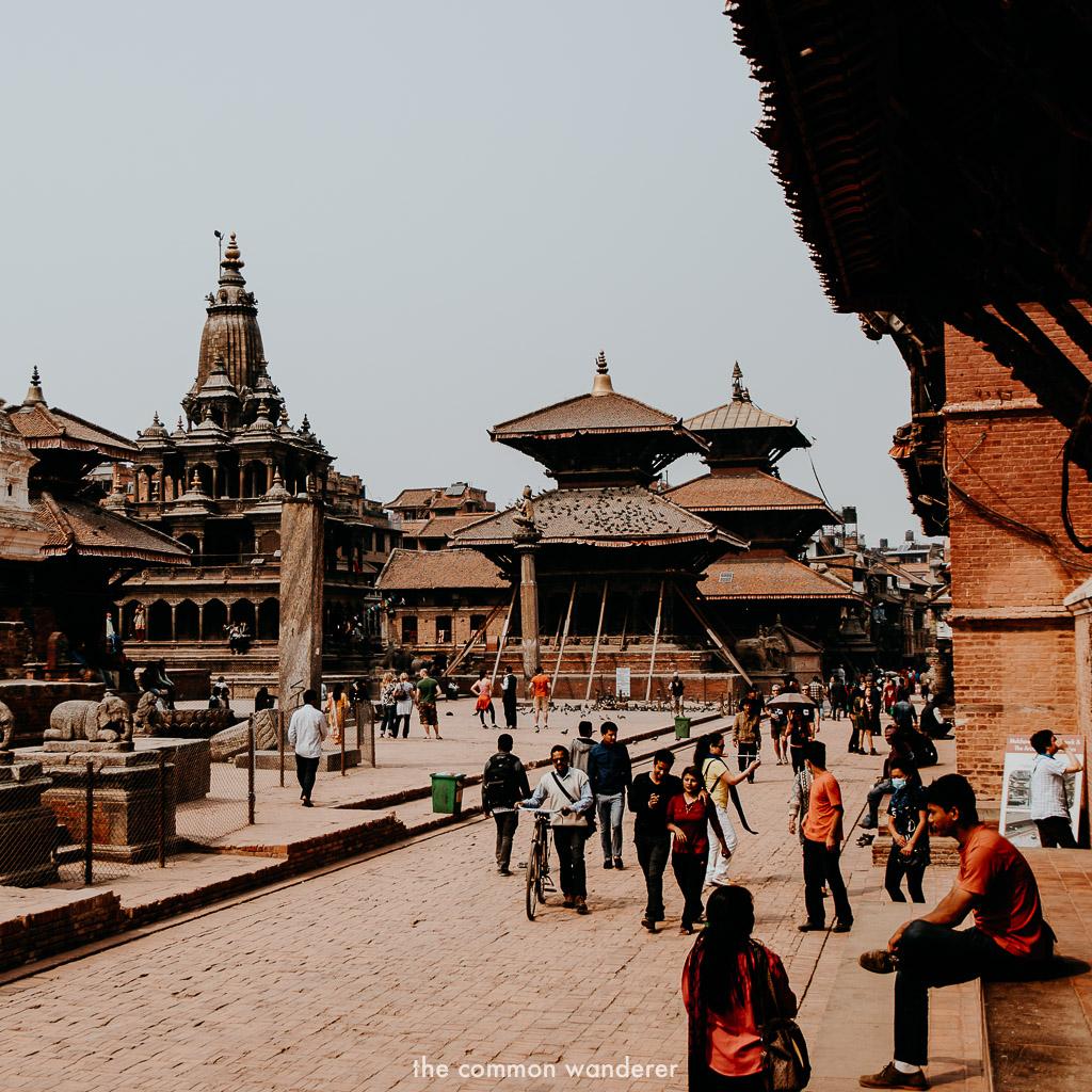 Patan Durbar Square in Kathmandu Valley