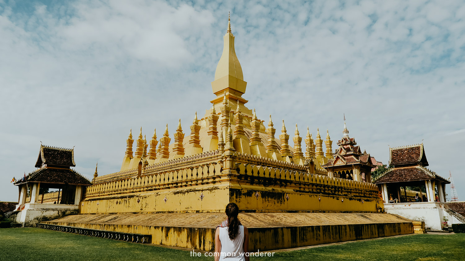 The best things to do in Laos include visiting Pha That Luang Stupa in Vientiane