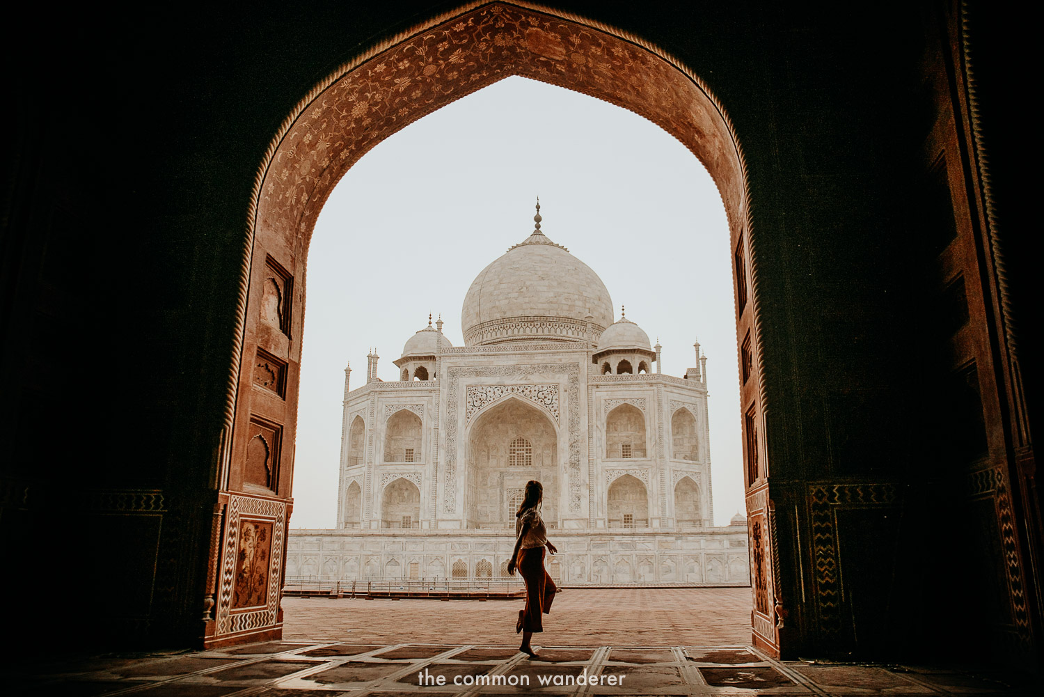 Experiencing the Taj Mahal on our G Adventures India by rail tour