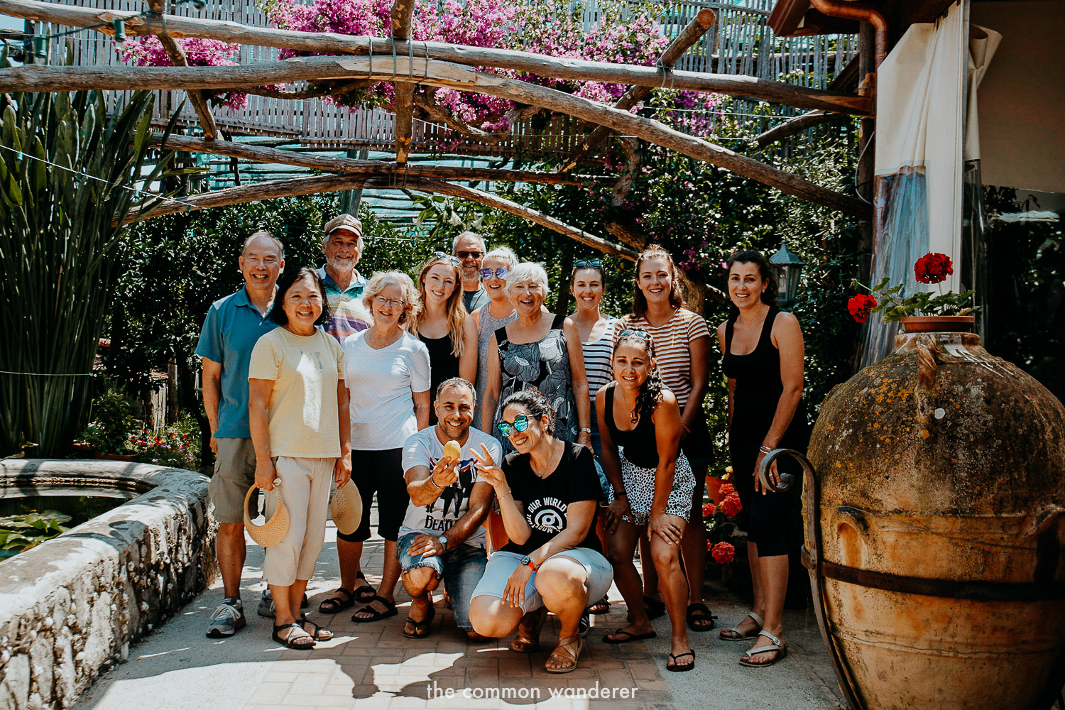 Our G Adventures local living Sorrento tour group