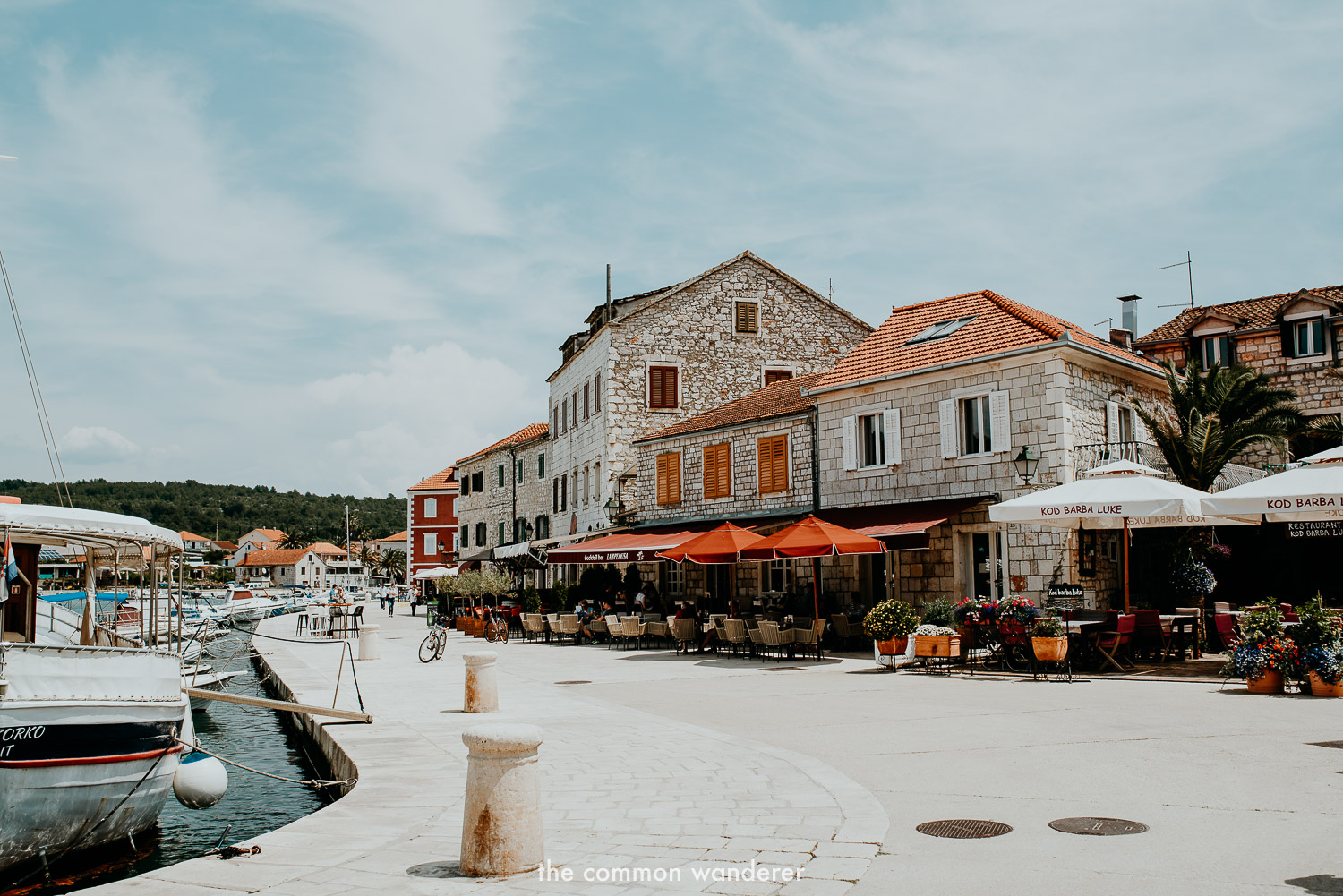 Stari Grad's picturesque riva is one of the best things to do in Stari Grad