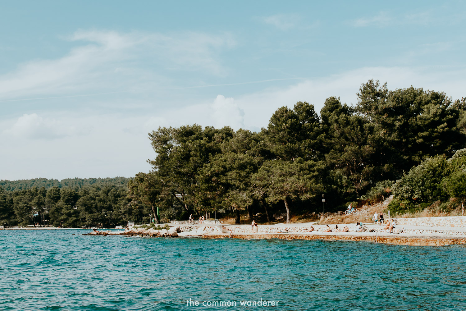 Swimming on the beautiful beaches is one of the best things to do in Stari Grad