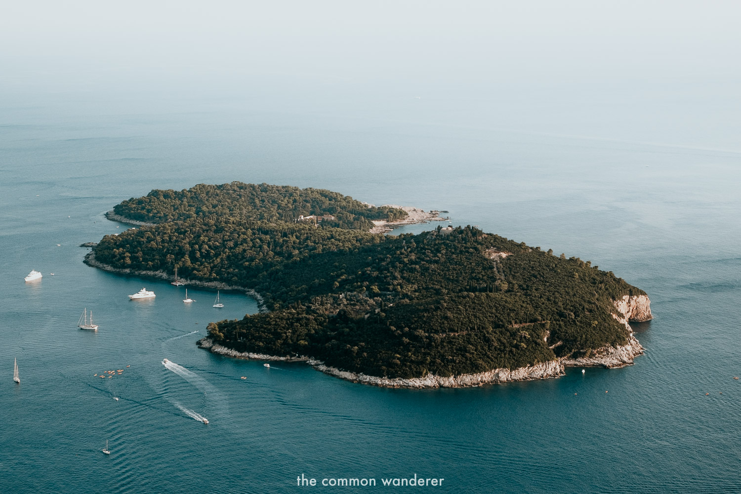 Visiting Lokrum Islands is one of the best things to do in Dubrovnik