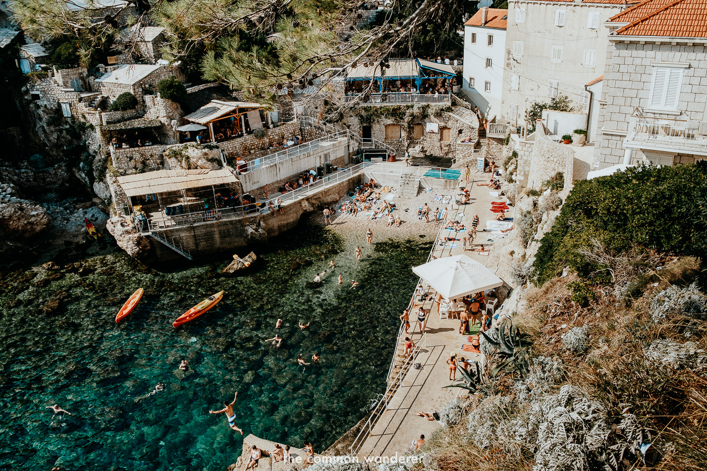 Sveti Jakov beach, Dubrovnik's best beach
