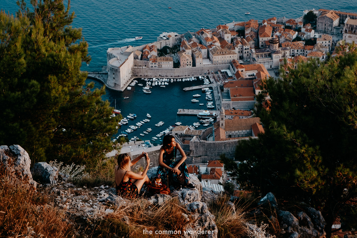 Sunset from Mt Srd, Dubrovnik top things to do