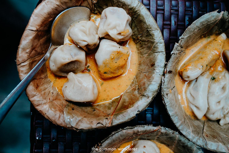 Delicious Momos are essential food to eat in Kathmandu