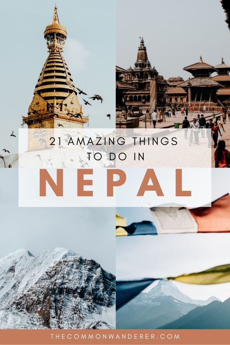 Here's our definitive list of things to do in Nepal, because after three trips through this country, we know a thing or two! Discover famous attractions, ancient sites, sacred temples, epic Himalayan hiking and jungle safaris. | #Nepal #Himalaya #Kathmandu #travel
