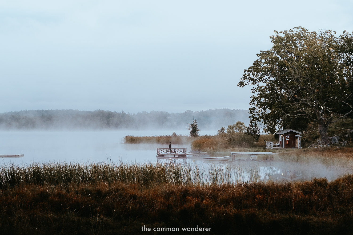 The Common Wanderer monthly update - visiting Smaland, Sweden