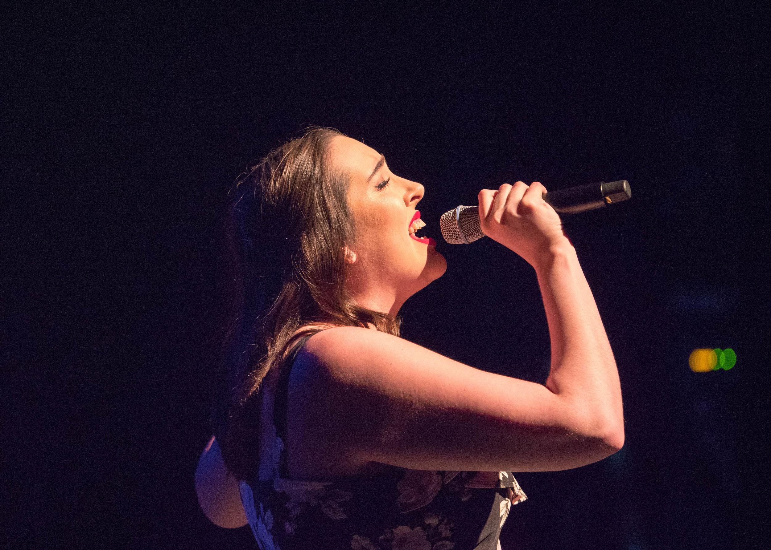 NEPA Sings winner Talia Johnson. Photo by Kyle Kraemer