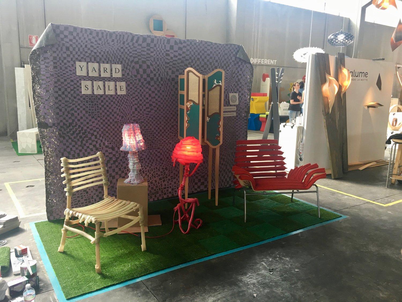 DIN - Design In - FuoriSalone del Mobile, Milan, Italy (2018)