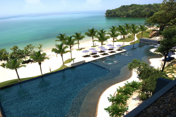 Inspired by nature, the luxurious  Beyond Resort Krabi  offers a tropical escape on a private stretch of Klong Muang Beach.