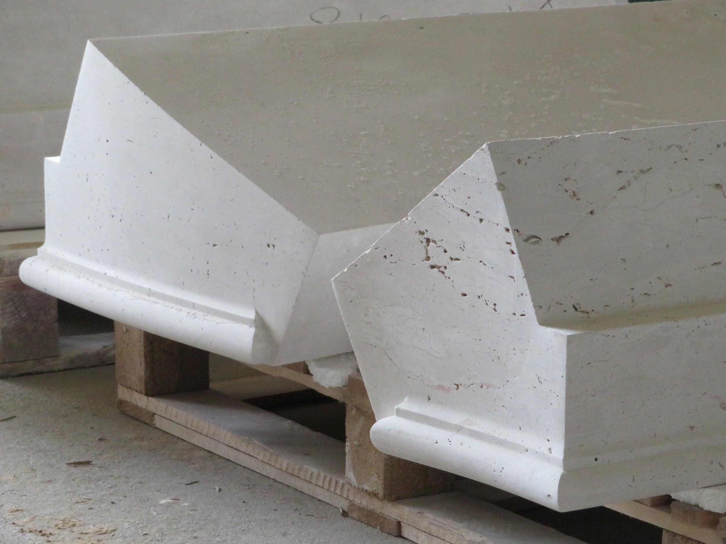 Campaspero limestone Steps