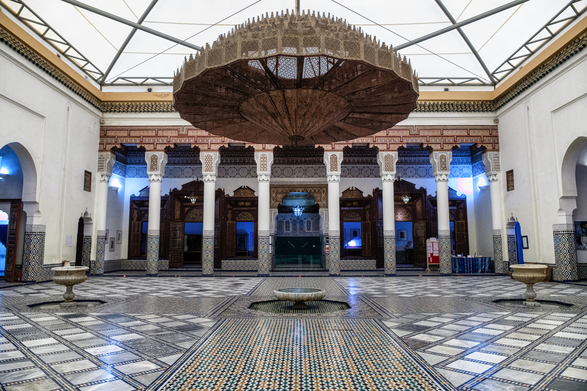 Inside the stunning Musee De Marrakech