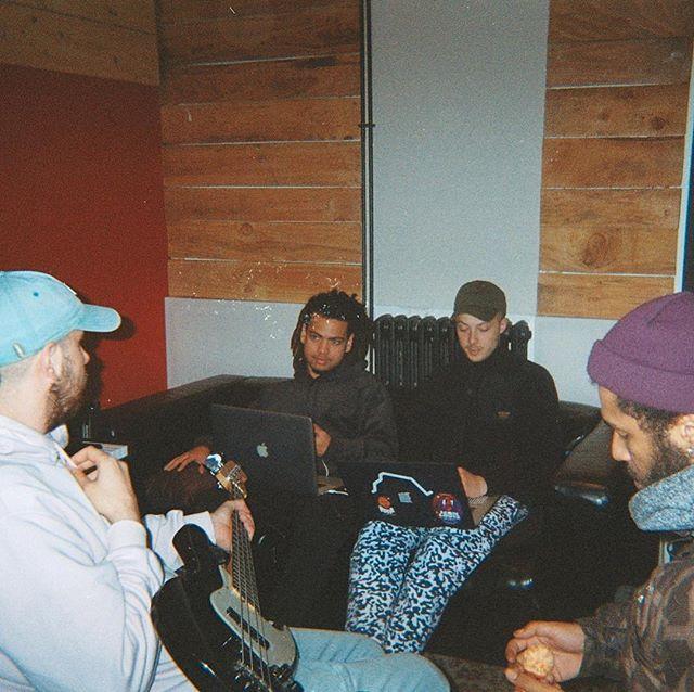 Boys band @bla.audio @thom9_ @phtrigano @hautetheduo 💎