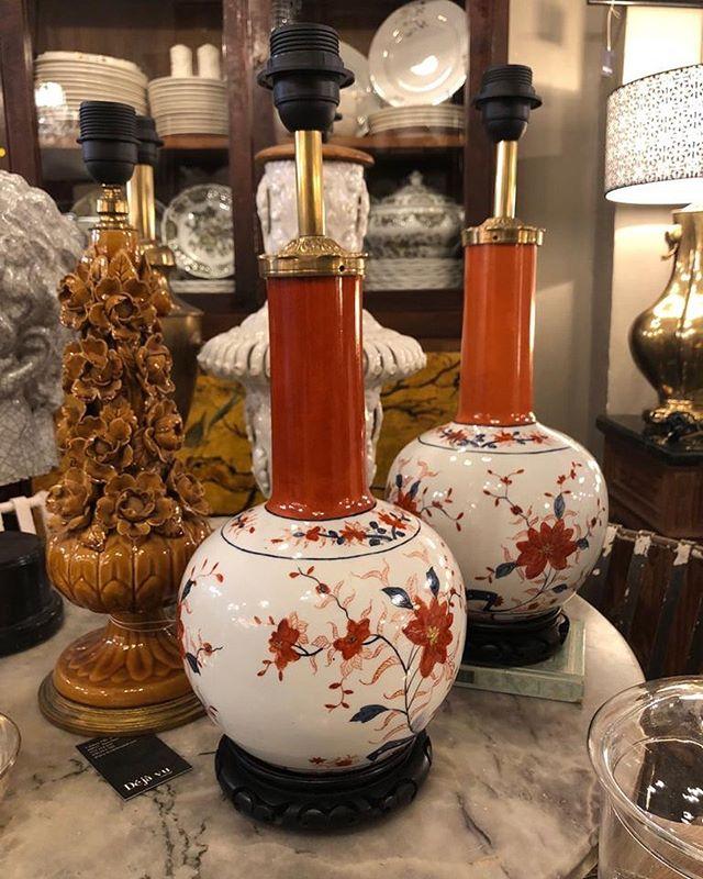 Mas lamparas preciosas ❤️ . . . #lamparas #vintage #decoración #deco #mueblesbarcelona #iluminacionbarcelona