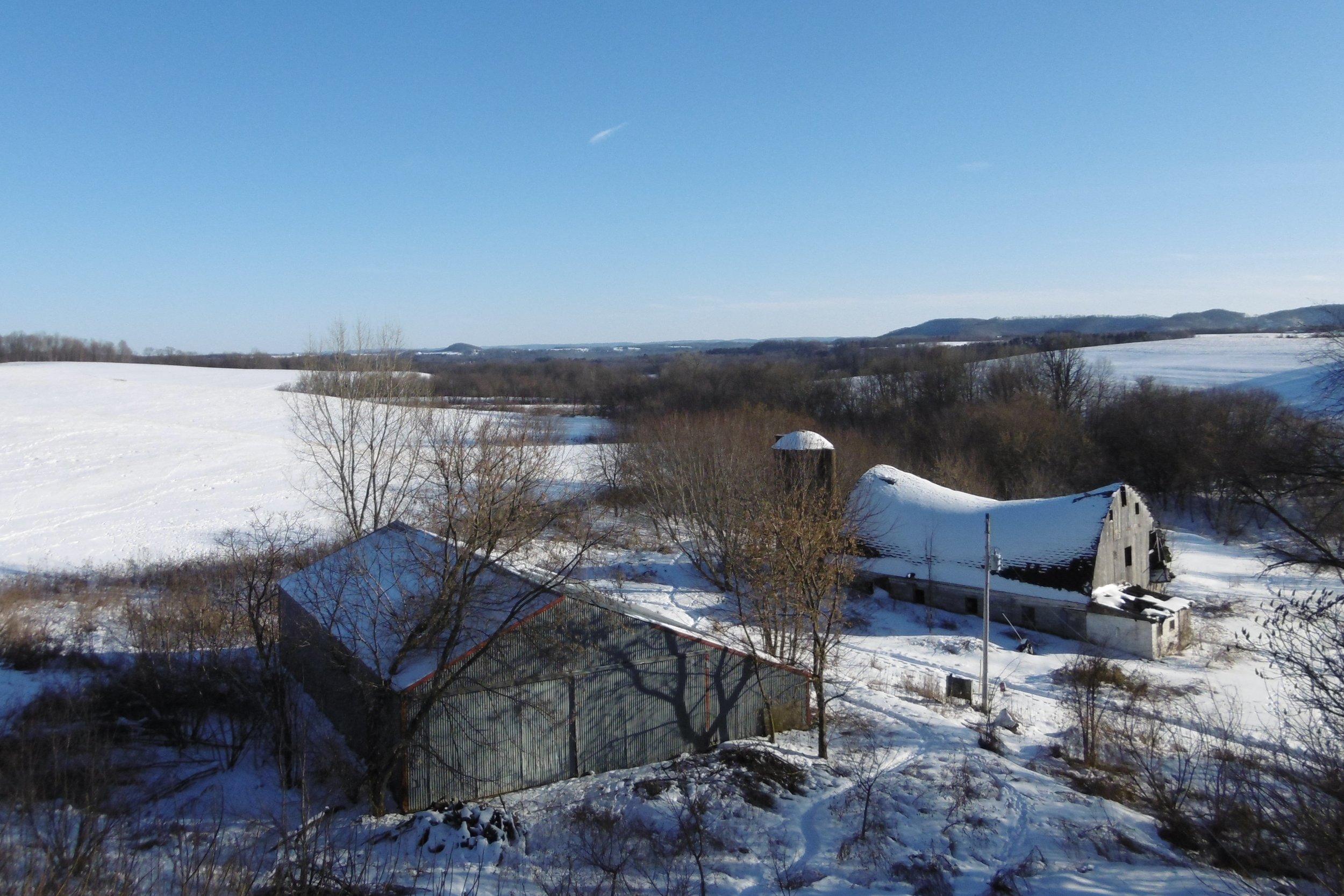 Hexagon Projects & Farm in winter