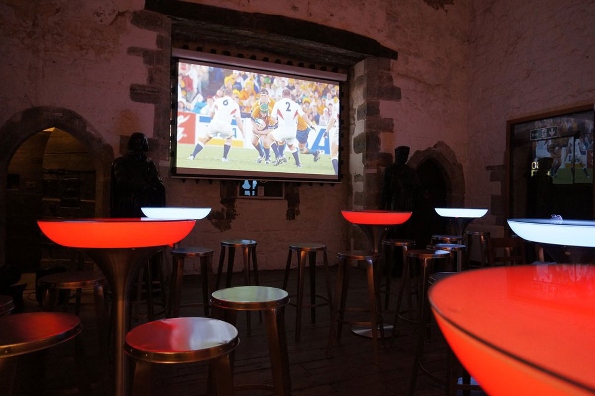 Rugby in the Towers & Cinema