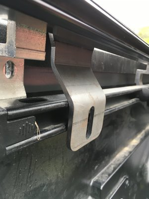 Max Modular Bed Rack Tonneau Brackets For Tacoma S With Bakflip Covers Max Modular Truck Bed Racks