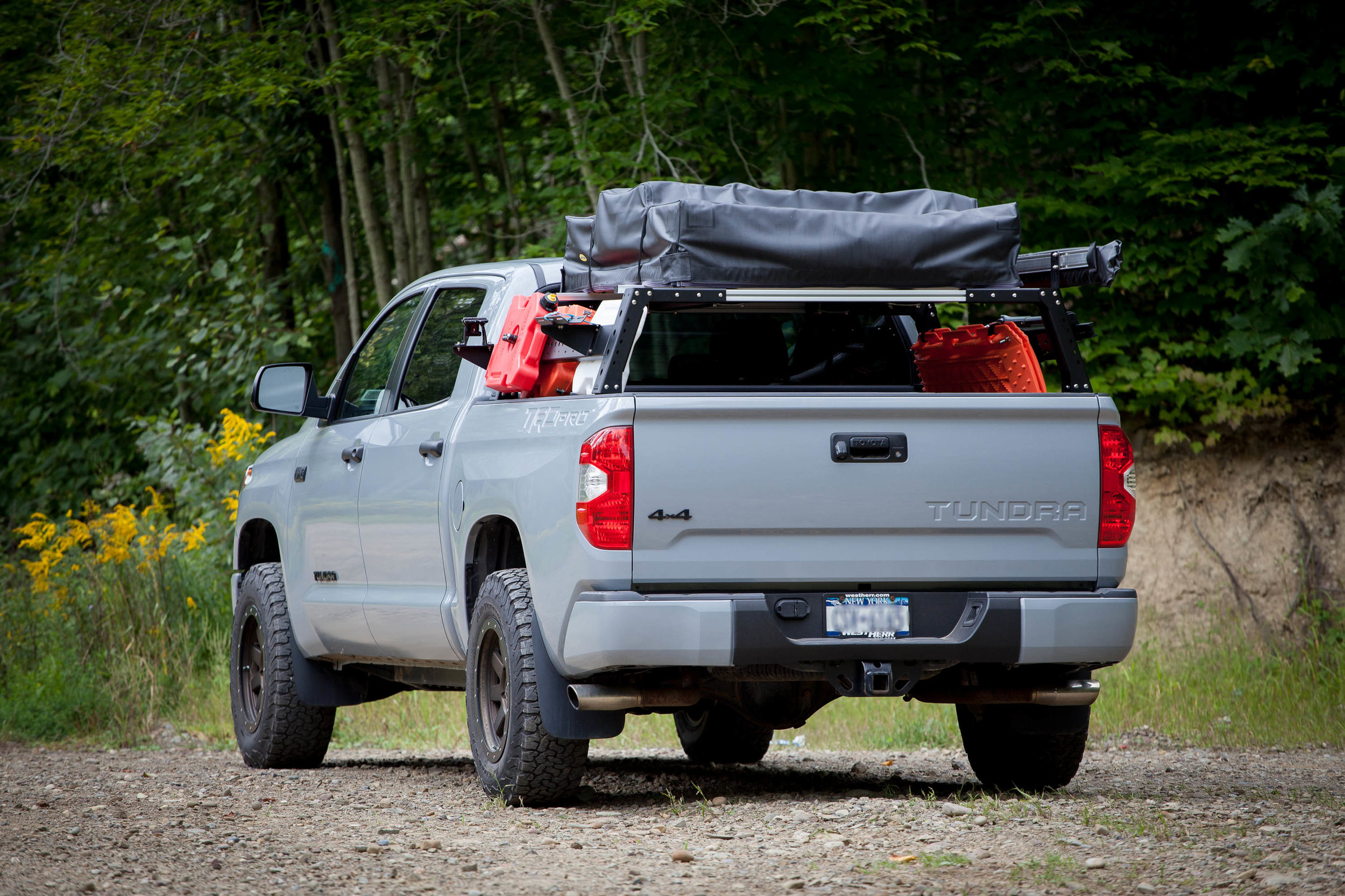 Max Modular Steel Max 14 High Bed Rack Fits All Toyota Ford Chevy Ram And Nissan Trucks Max Modular Truck Bed Racks