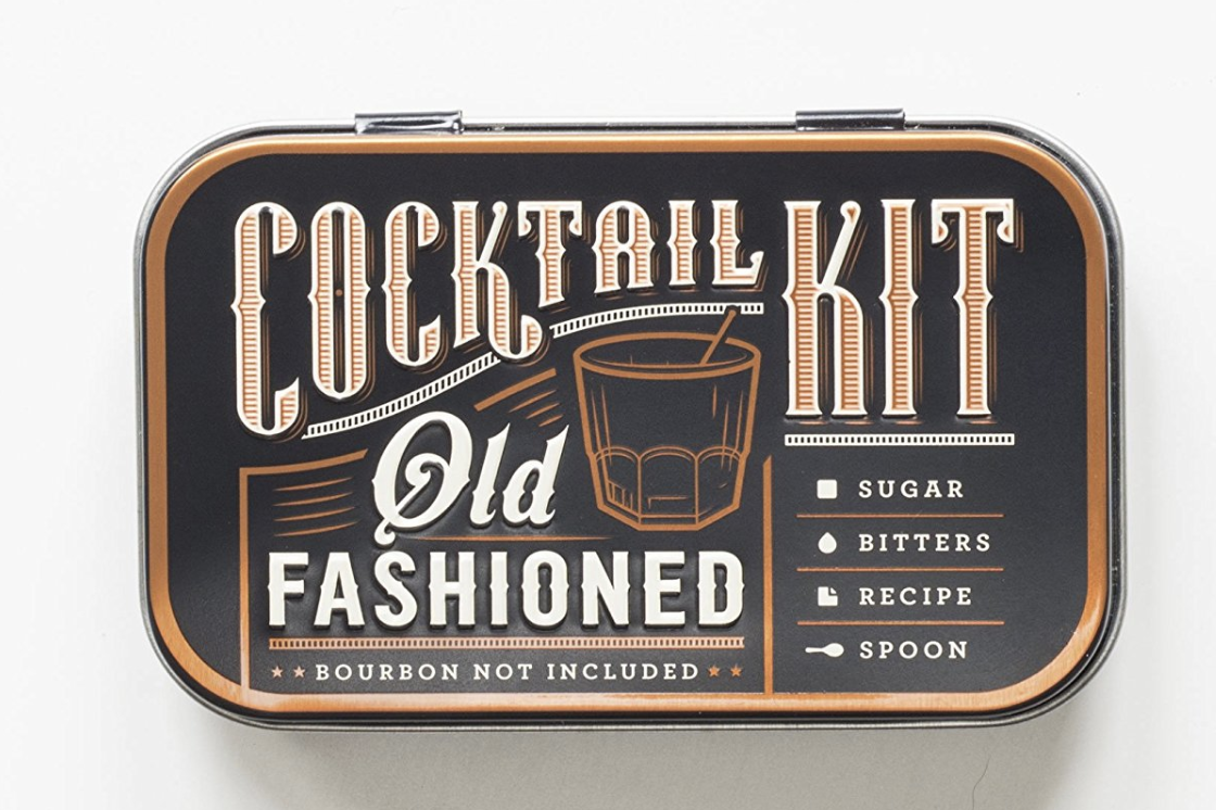 Old Fashioned Travel Cocktail Kit