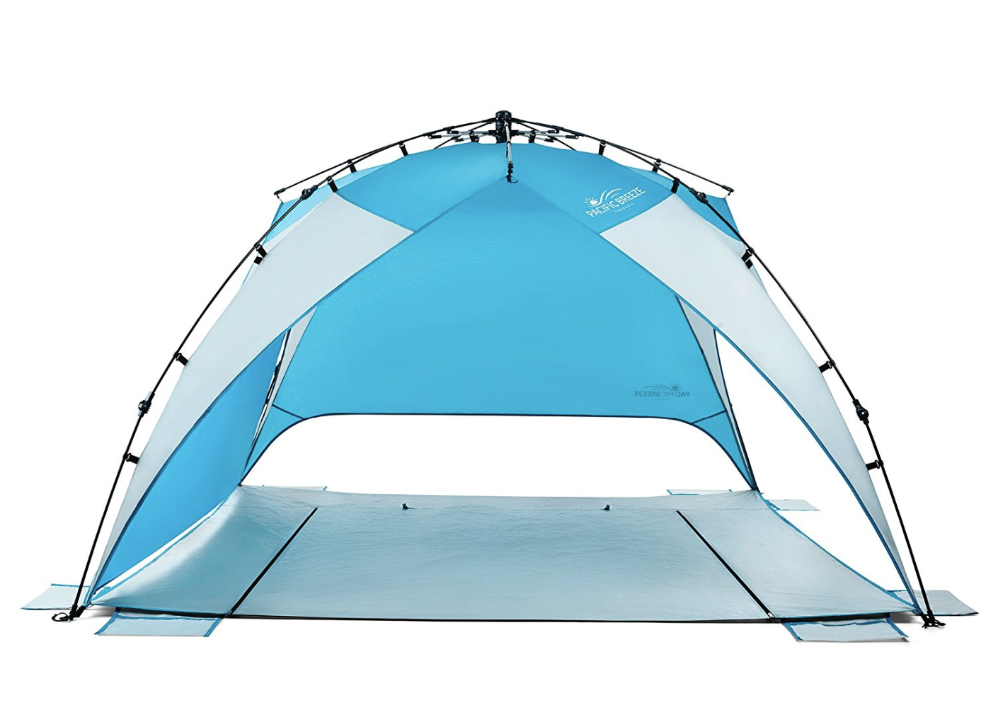 Beach Shelter - Shade is your friend. After all, some parts of your body may have never seen the light of day and will be prone to burning. Stay cool and don't get extra crispy by bringing shelter to a less-than-shady beach!