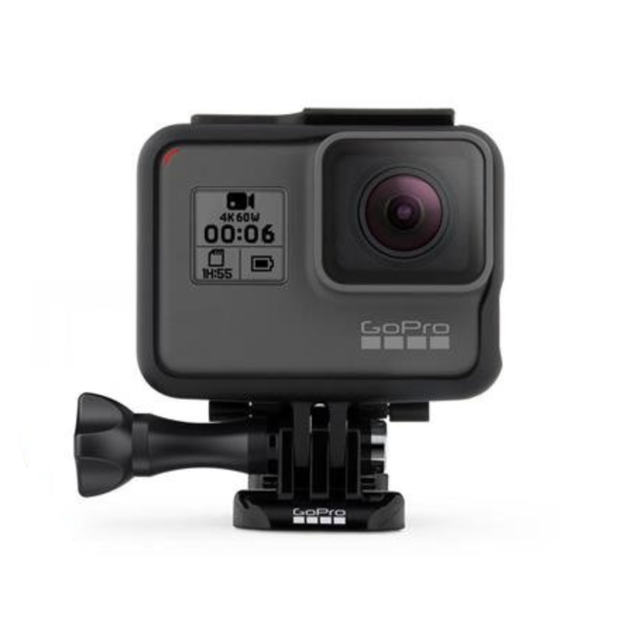 GoPro Hero 6 - The waterproof GoPro Hero 6 is the go-to waterproof camera for snapping snorkeling selfies and shooting underwater video.
