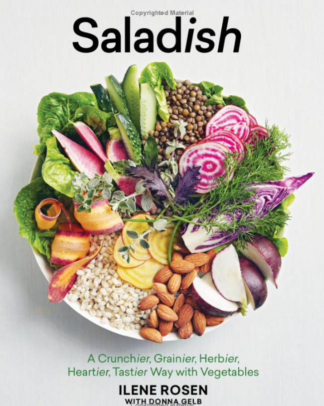 saladish by Ilene Rosen and Donna Gelb book cover
