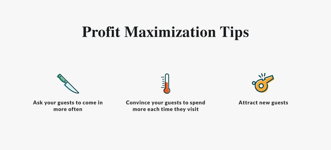 profit maximization tips