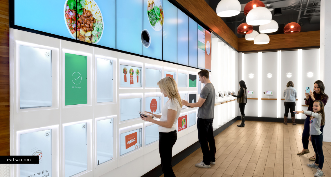 Complete self-service gives diners a glimpse into the future