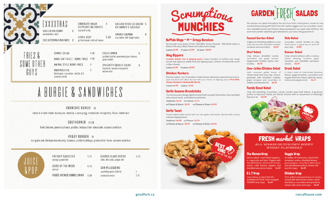 Design your menu to bring in the most sales